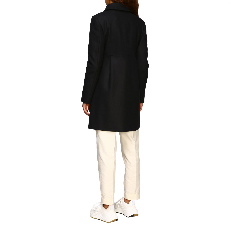 Cappotto New romantic Fay con alamari in panno di misto cashmere
