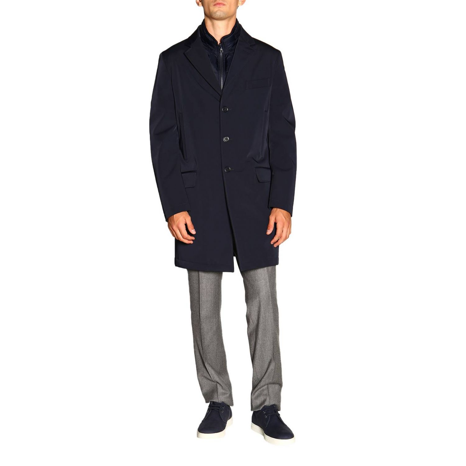 Jacket men Fay blue 1