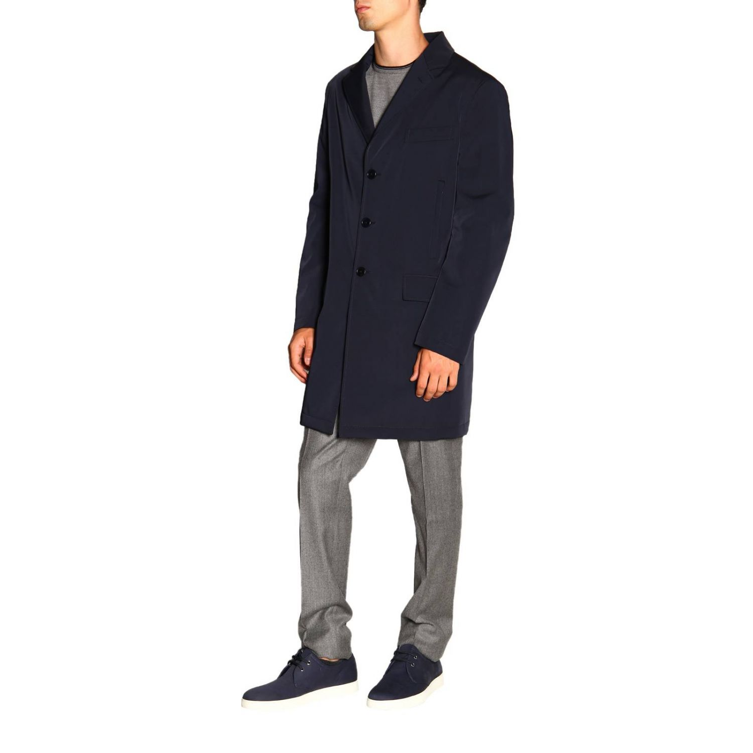 Jacket men Fay blue 4