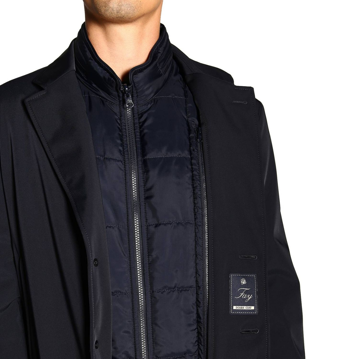 Jacket men Fay blue 5