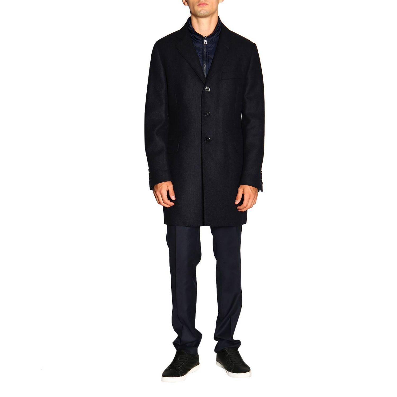 Coat men Fay blue 1