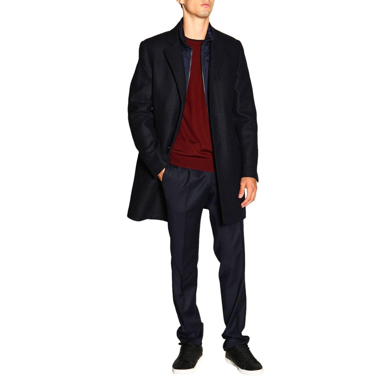 Coat men Fay blue 2