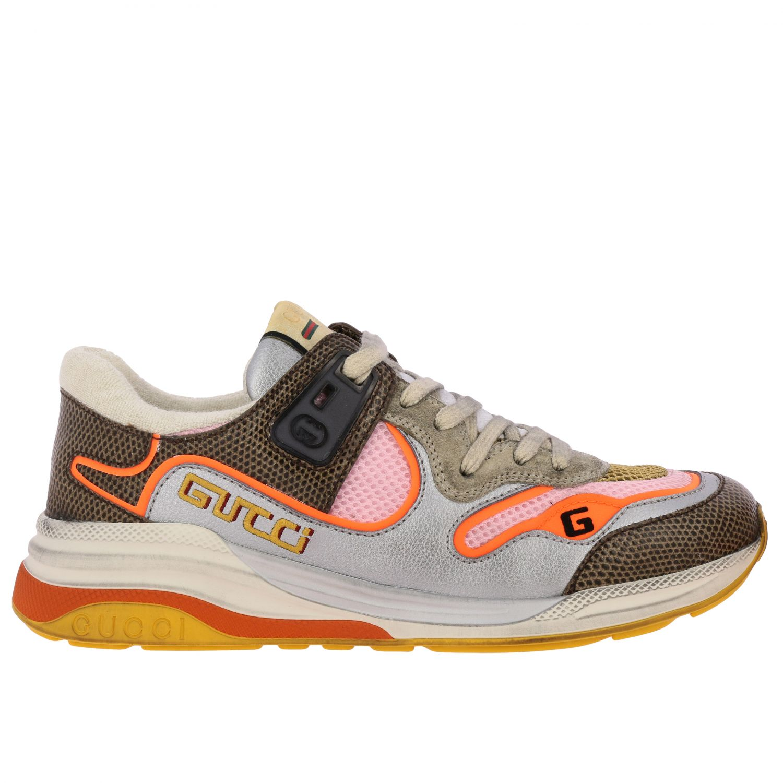 Shoes women Gucci orange 1