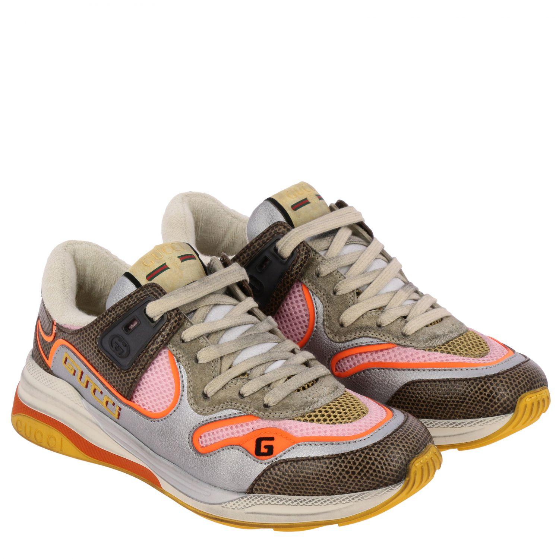 Shoes women Gucci orange 2