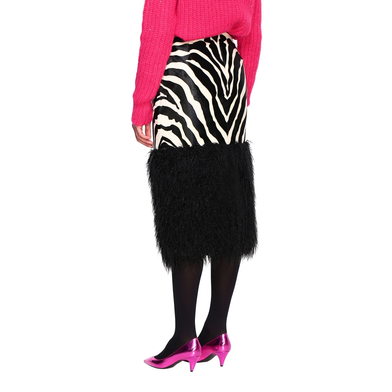 半身裙 女士 Saint Laurent 黑色 3