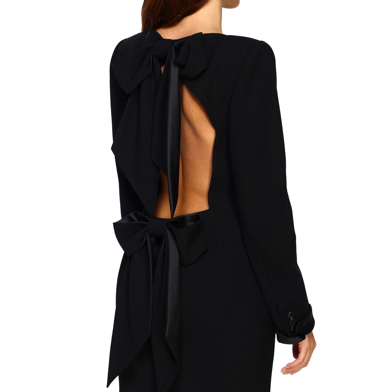 Платье Женское Saint Laurent черный 5