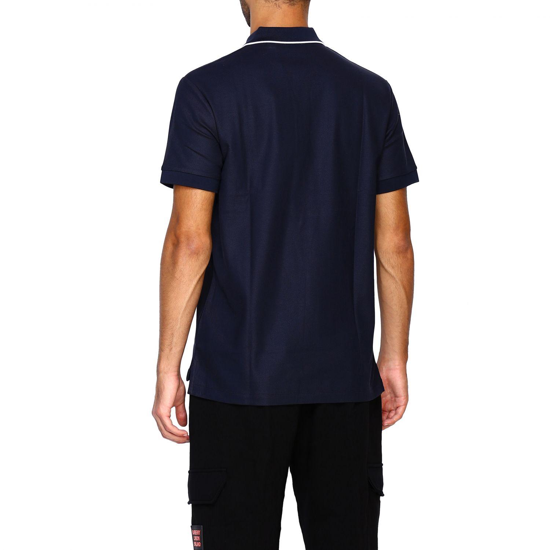 T-shirt Burberry: Polo Aiden a maniche corte con ricamo logo diamon tb blue 3