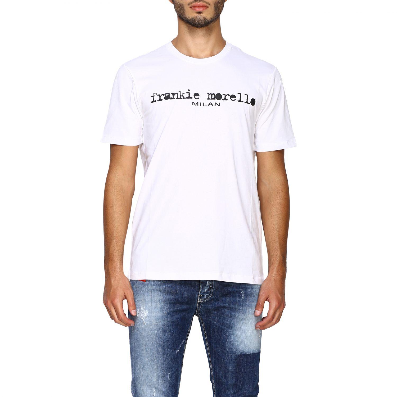 T-shirt homme Frankie Morello blanc 1