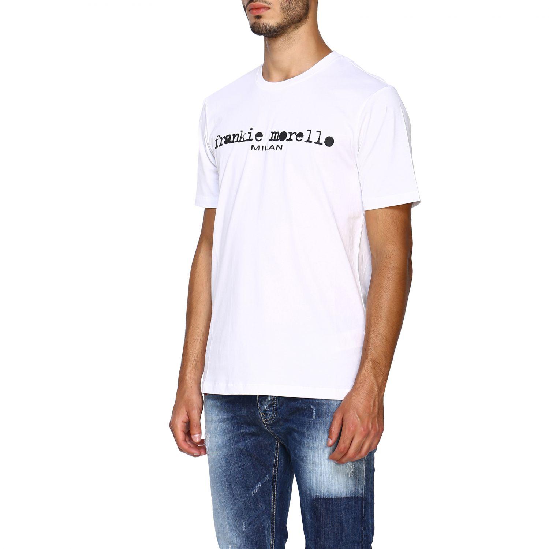 T-shirt homme Frankie Morello blanc 4