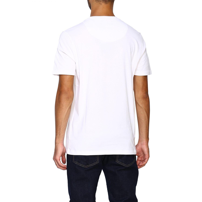 T-shirt homme Frankie Morello blanc 3