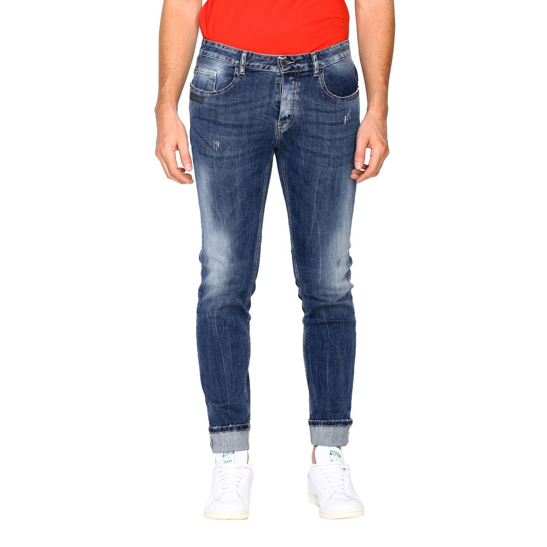 Jeans Frankie Morello: Jeans homme Frankie Morello denim 1