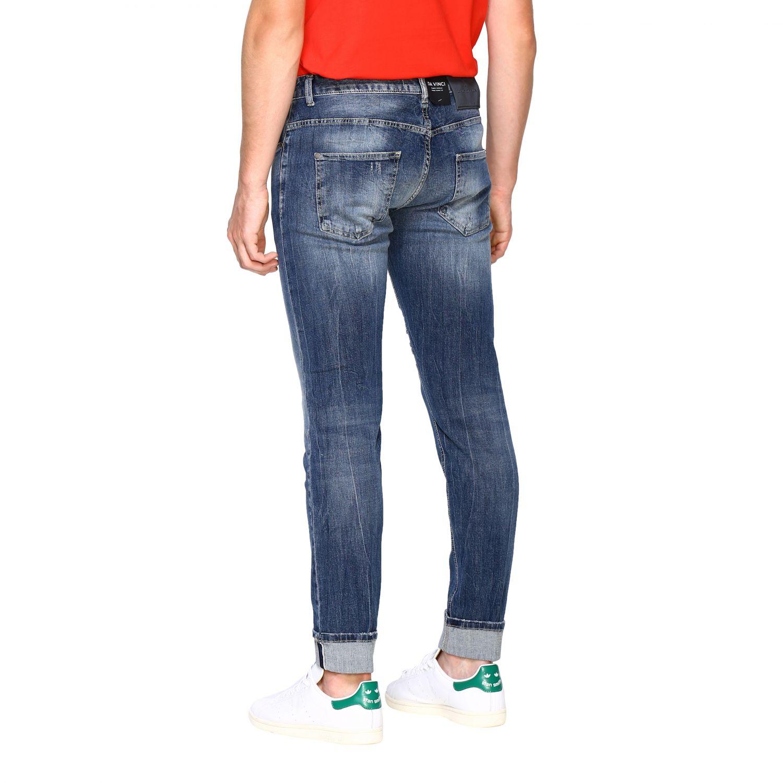 Jeans Frankie Morello: Jeans homme Frankie Morello denim 3