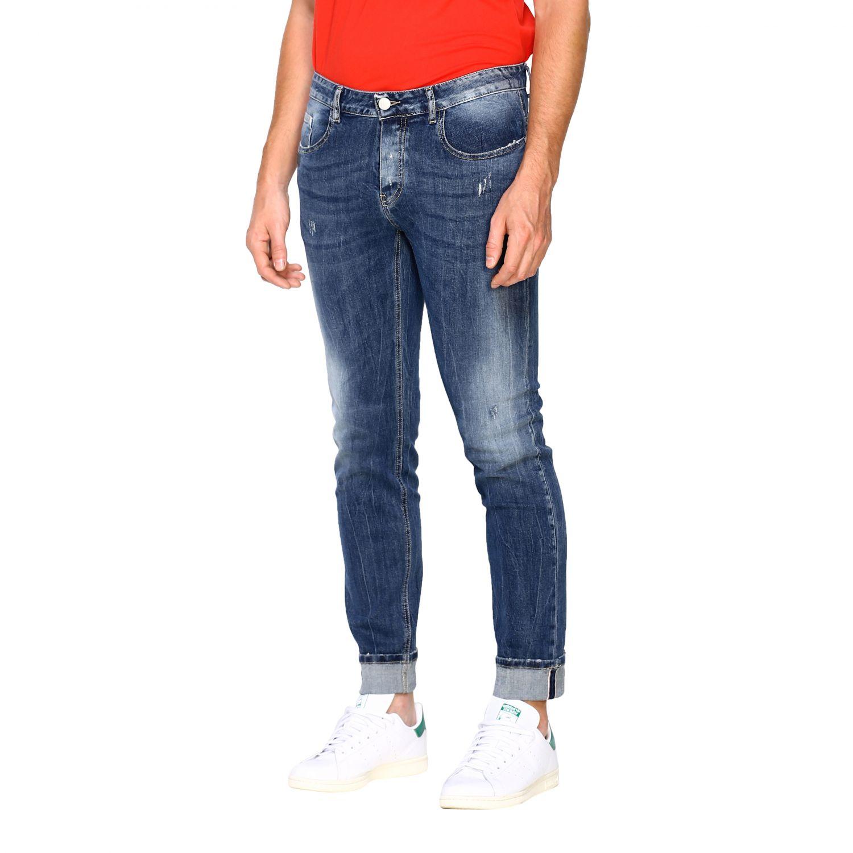 Jeans Frankie Morello: Jeans homme Frankie Morello denim 4
