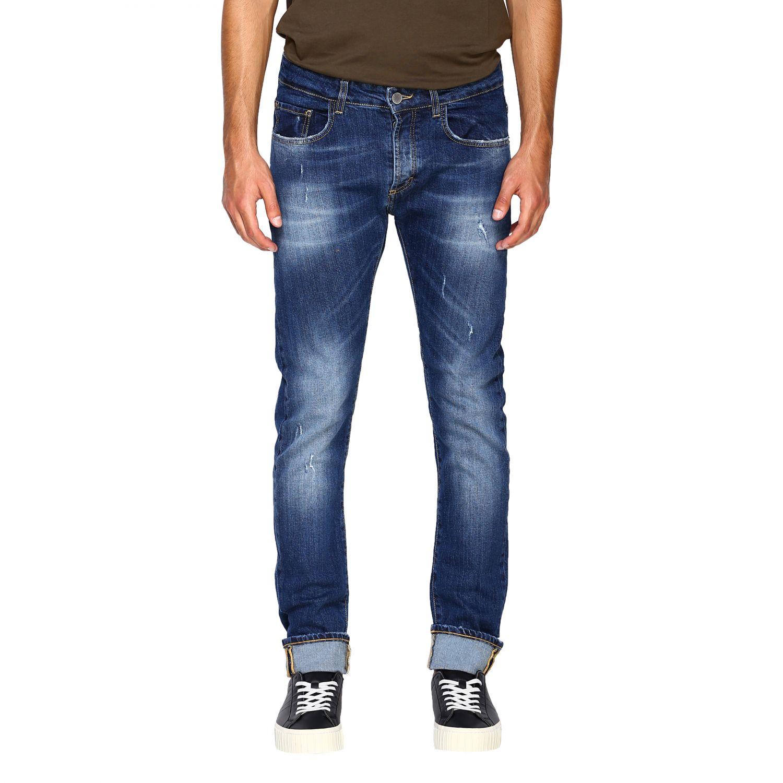 Jeans homme Frankie Morello denim 1