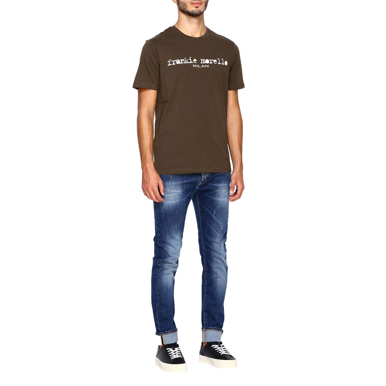 Jeans homme Frankie Morello denim 2