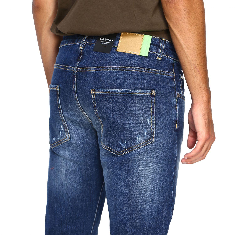 Jeans homme Frankie Morello denim 5
