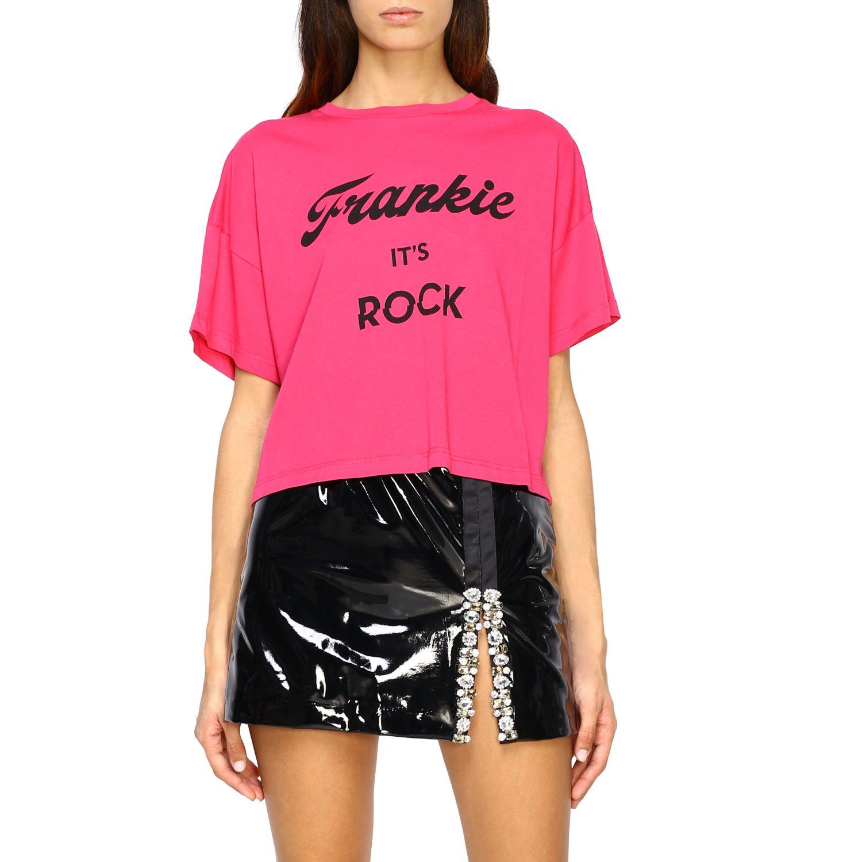 T-shirt femme Frankie Morello fraise 1