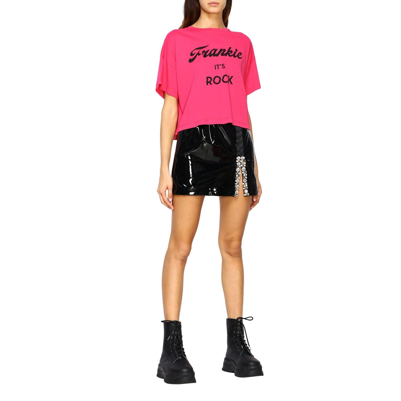 T-shirt femme Frankie Morello fraise 2