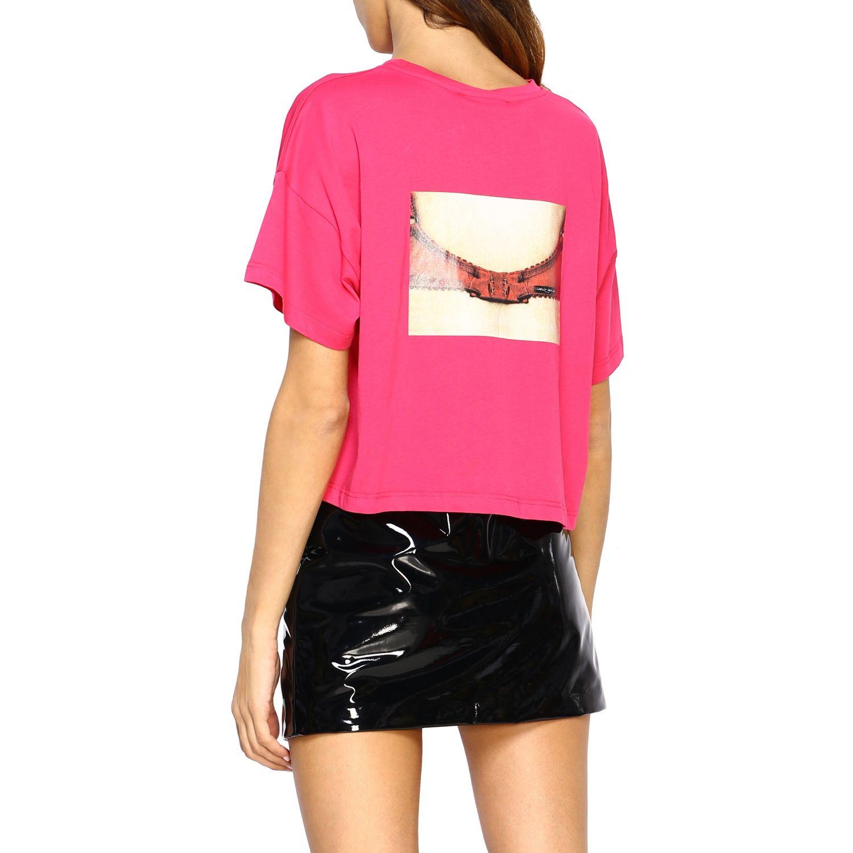T-shirt femme Frankie Morello fraise 3