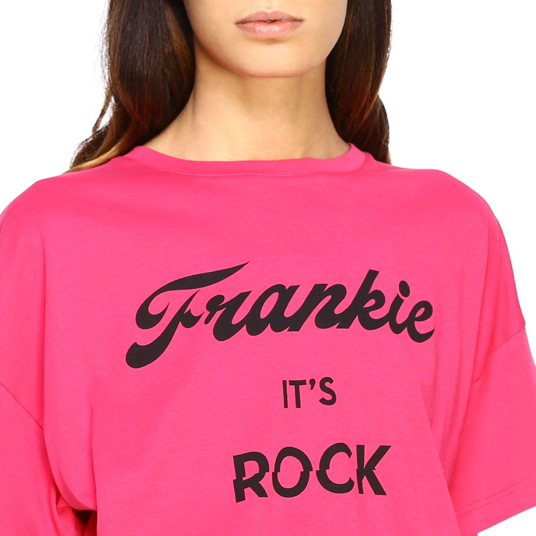 T-shirt femme Frankie Morello fraise 5