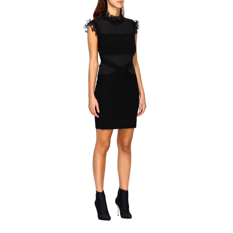 Robes femme Frankie Morello noir 1