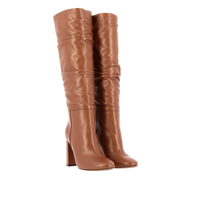 靴子 L'autre Chose: 鞋 女士 L'autre Chose 黄棕色 2