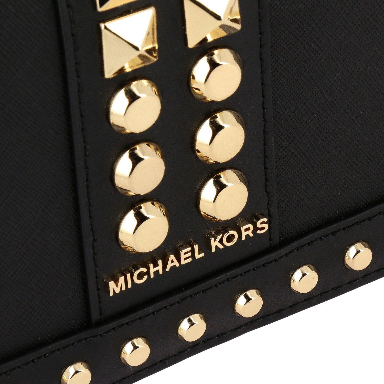 Мини-сумка Michael Michael Kors: Мини-сумка Jet Michael Michael Kors черный 4