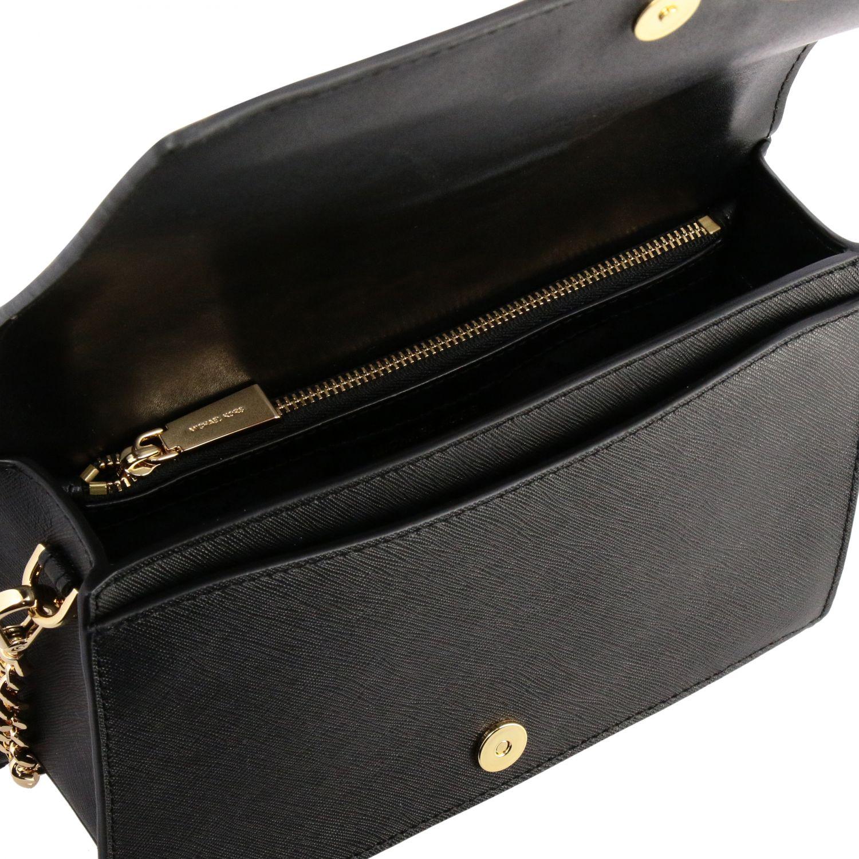 Мини-сумка Michael Michael Kors: Мини-сумка Jet Michael Michael Kors черный 5