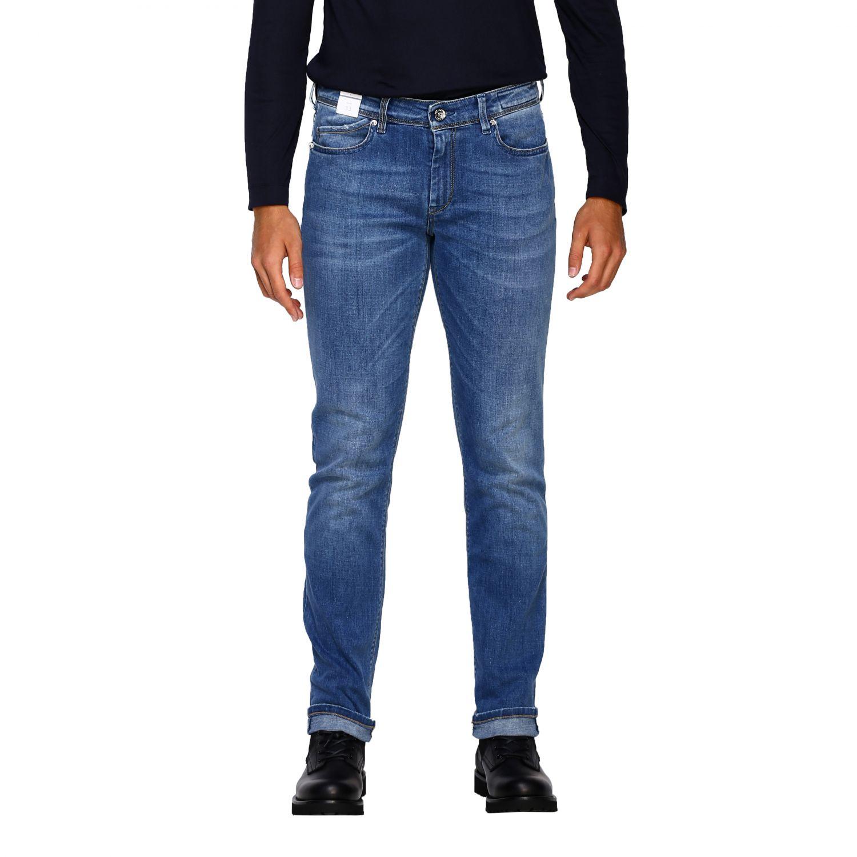 Jeans homme Re-hash délavé 1