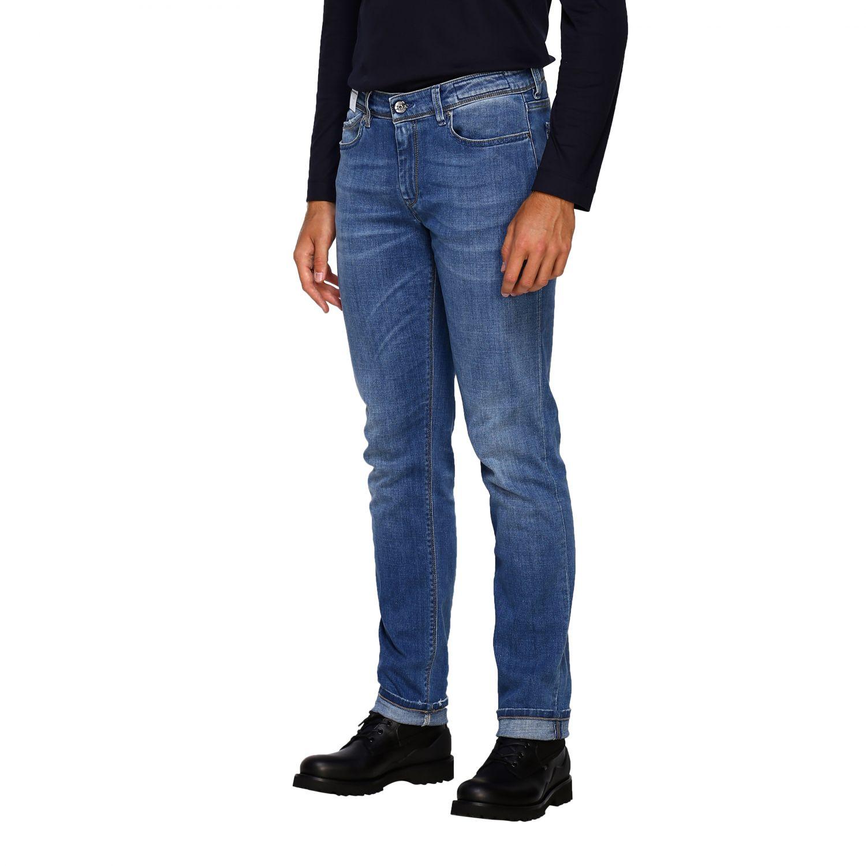 Jeans homme Re-hash délavé 4