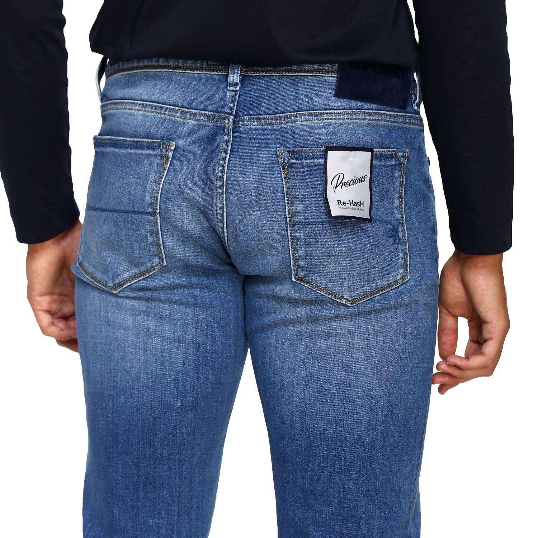 Jeans homme Re-hash délavé 5