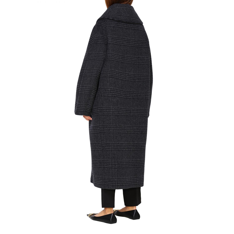 Coat women Balenciaga charcoal 3