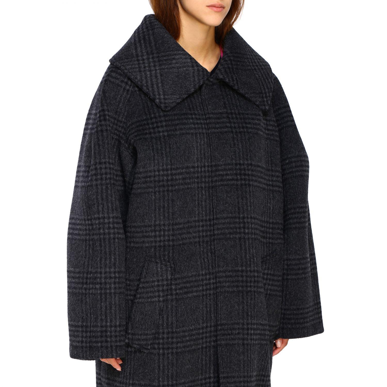 Coat women Balenciaga charcoal 5