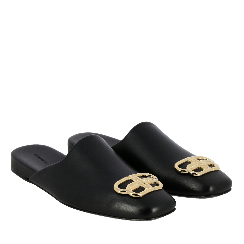 Flat sandals Balenciaga: Shoes women Balenciaga black 2