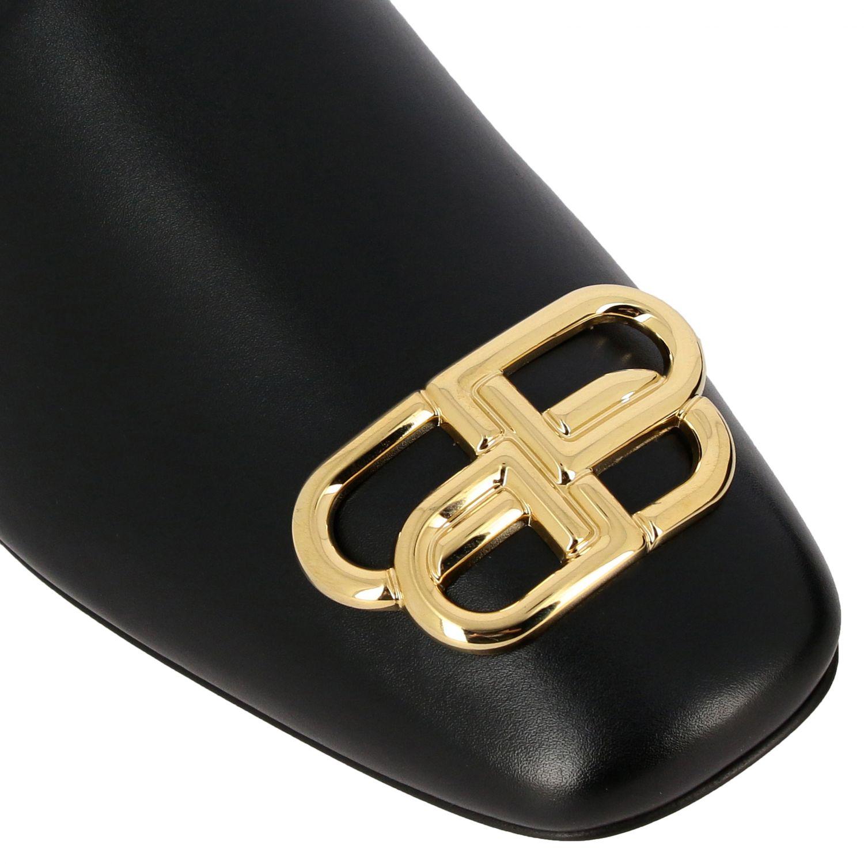 Flat sandals Balenciaga: Shoes women Balenciaga black 4