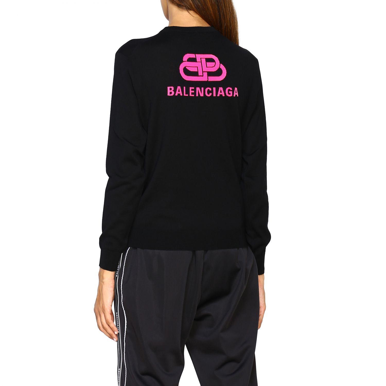 Jumper Balenciaga: Jumper women Balenciaga black 3