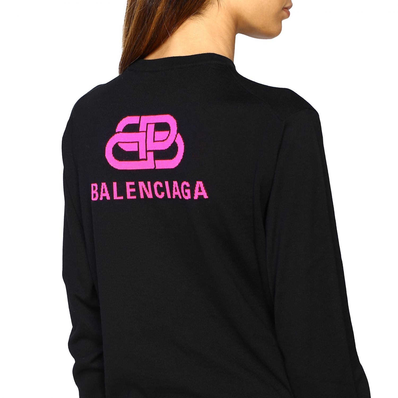 Jumper Balenciaga: Jumper women Balenciaga black 5