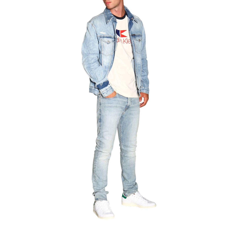T-shirt Calvin Klein: Calvin Klein Jeans T-shirt with logo white 2
