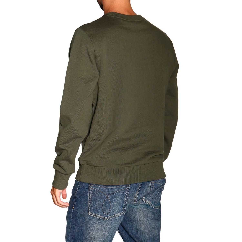 Sweatshirt Calvin Klein: Calvin Klein crewneck sweatshirt with logo military 3