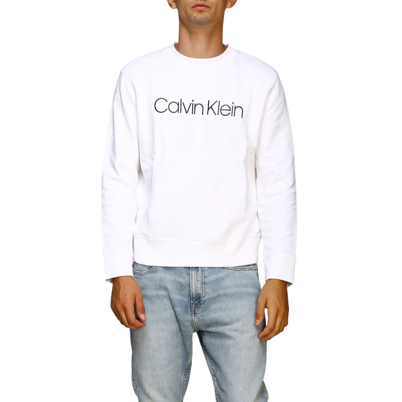 Pullover Calvin Klein: Calvin Klein Sweatshirt mit Rundhalsausschnitt und Logo schwarz 1