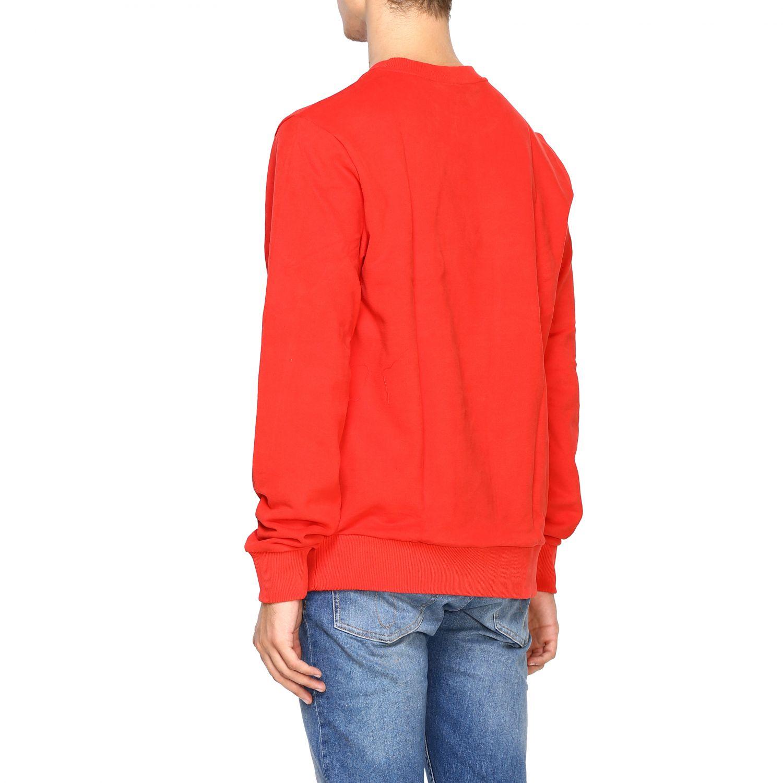 Sweatshirt Calvin Klein: Calvin Klein crewneck sweatshirt with logo red 3