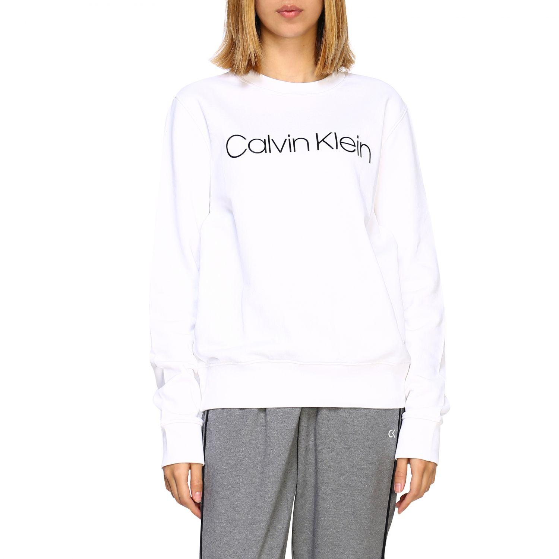 Pullover damen Calvin Klein weiß 1