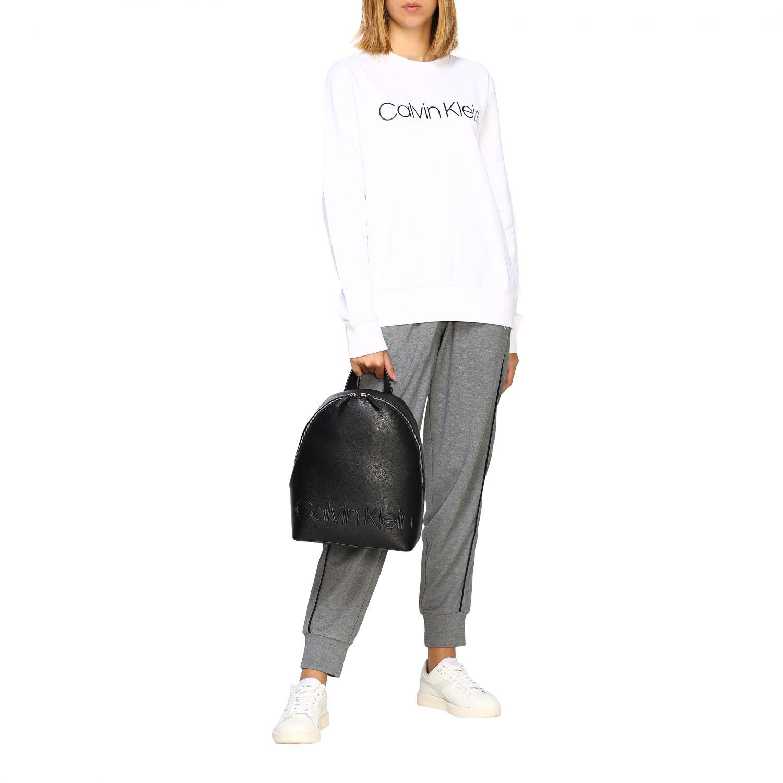 Pullover damen Calvin Klein weiß 2