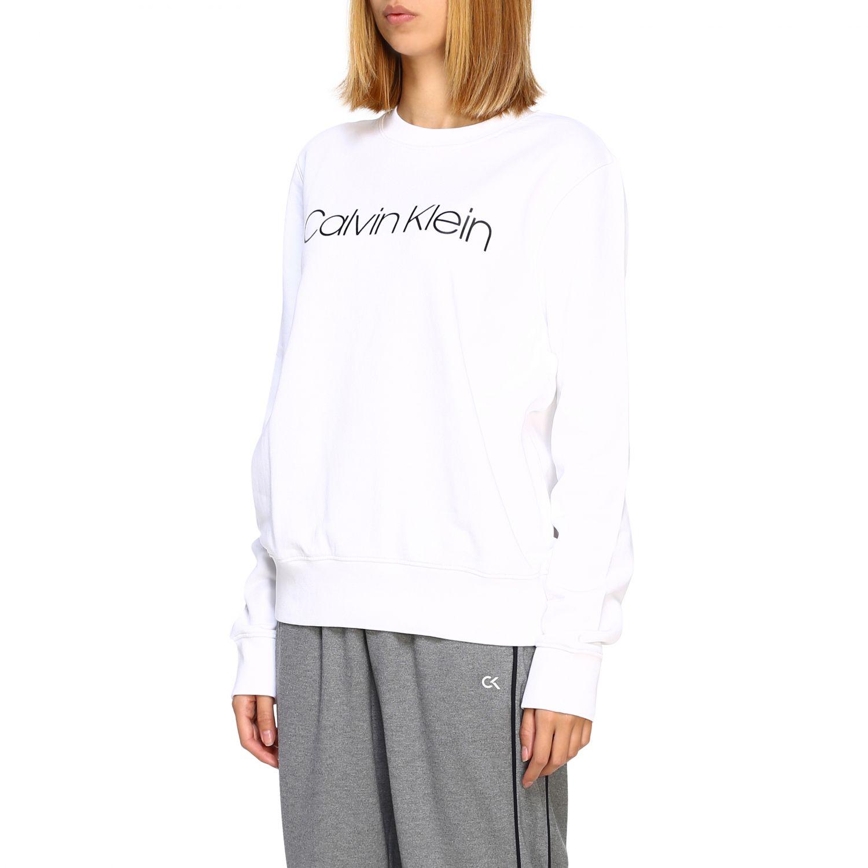 Pullover damen Calvin Klein weiß 4