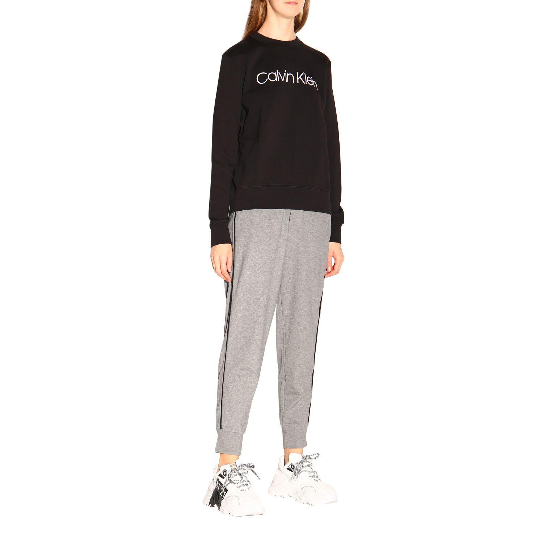 Pullover damen Calvin Klein schwarz 2
