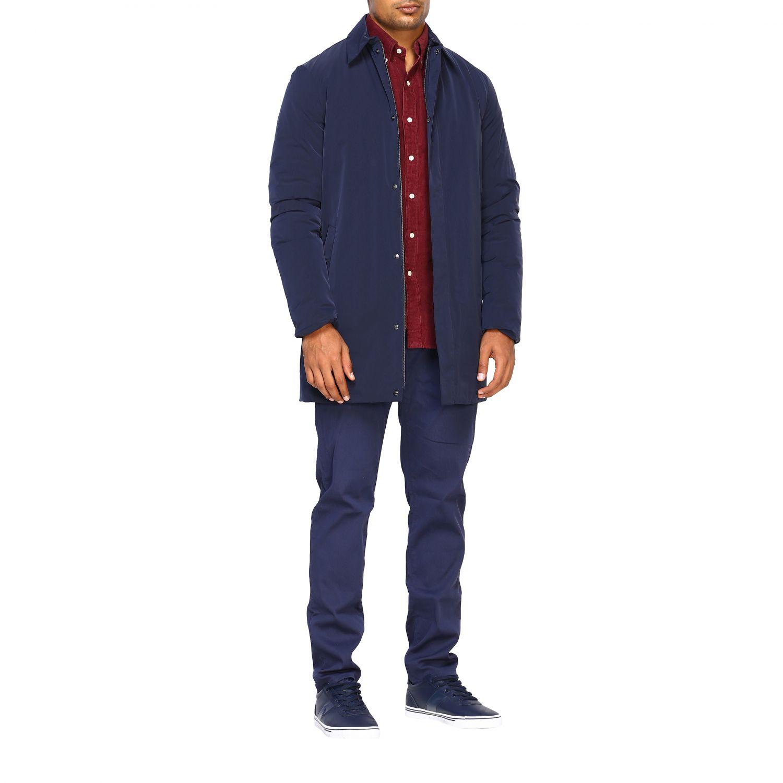 Jacket men Museum blue 2