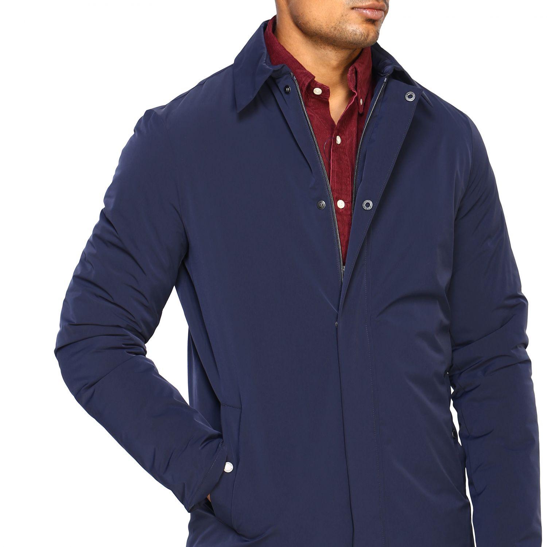 Jacket men Museum blue 5