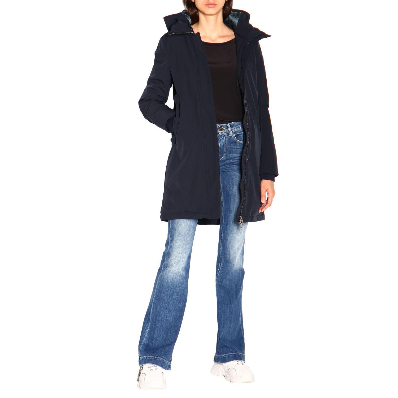 Jacket women Museum blue 2