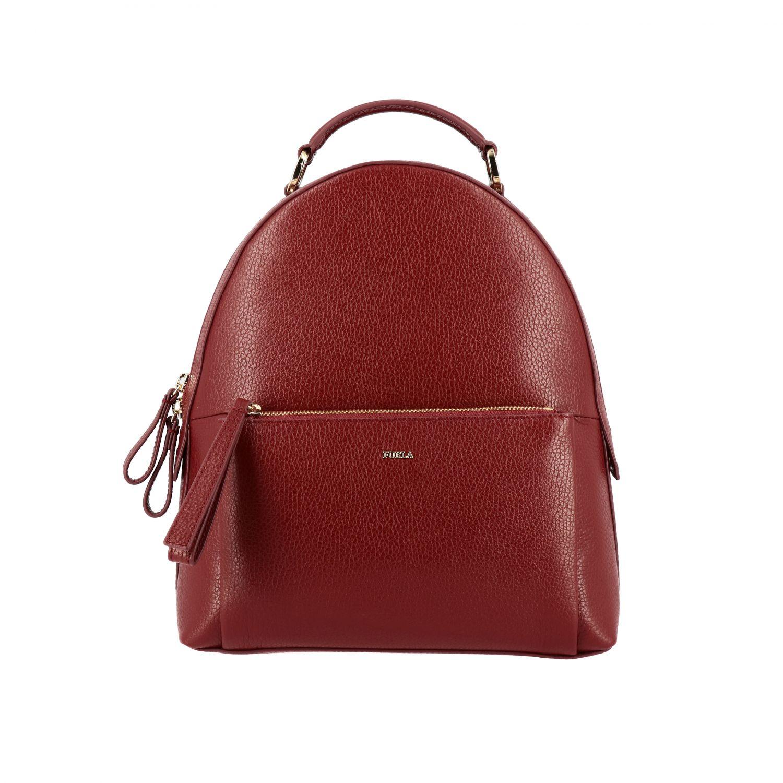 Backpack Furla: Shoulder bag women Furla cherry 1