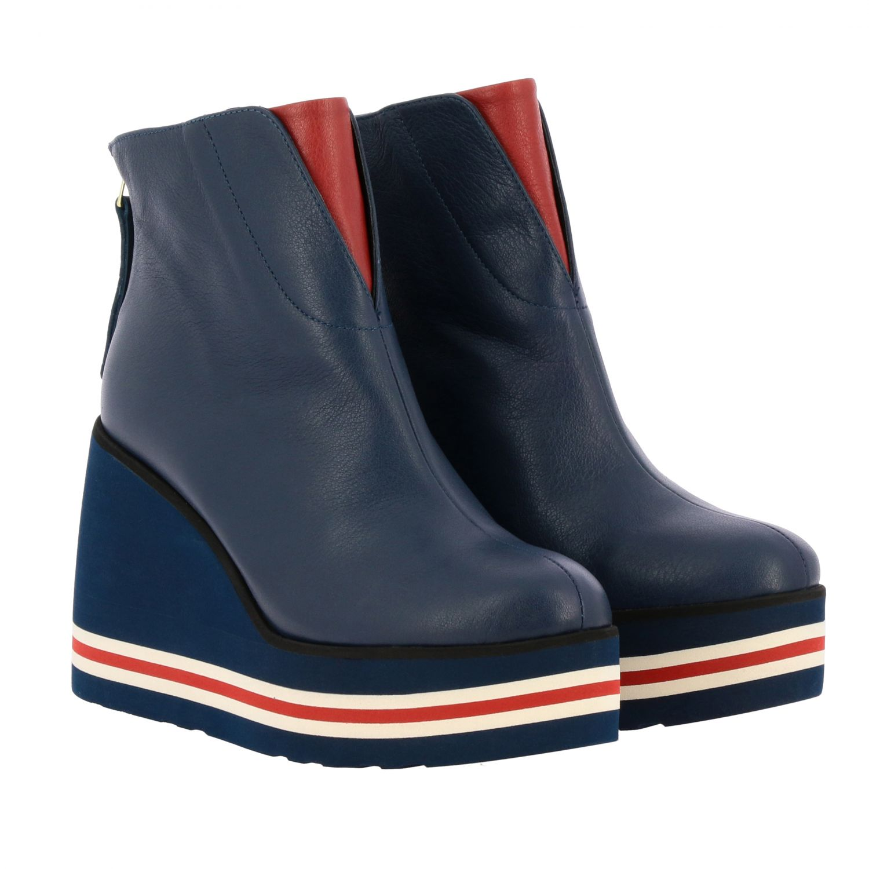 Shoes women Paloma BarcelÒ blue 2